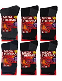 Mens Thermal Socks – Insulated Heated Socks – Boot Socks For Extreme Temperatures
