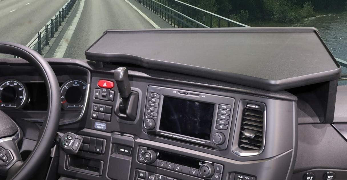 LKW Tisch Ablage Holz Truckertisch Ablagetisch Armaturenbrett cockpit Farbe:BLAU SCANIA S R neue Generation ab 2017