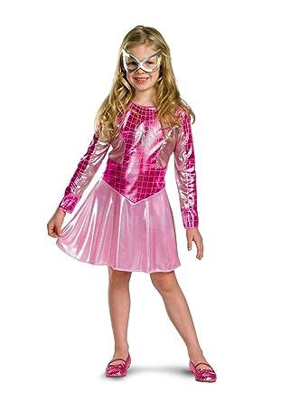 Pink Spider Girl Child/Toddler Costume - Toddler  sc 1 st  Amazon UK & Pink Spider Girl Child/Toddler Costume - Toddler: Amazon.co.uk: Clothing