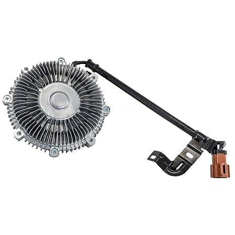Hexagonal Autoparts Radiador eléctrico ventilador de embrague para Ford Explorer Sport Trac Mercury Mountaineer 4.0L