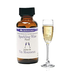 LorAnn Sparkling Wine Super Strength Flavor, 1 ounce bottle