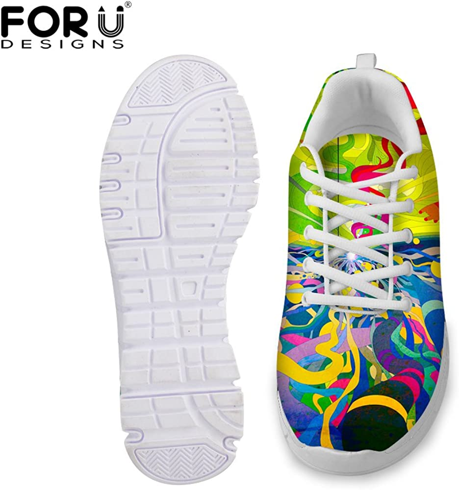 PZZ BEACH Colorful Breathable Mesh Sport Running Shoes Fashion Sneaker Comfortable