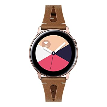 LiXiangFa for Samsung Watch Active New Leather Smart Watch ...