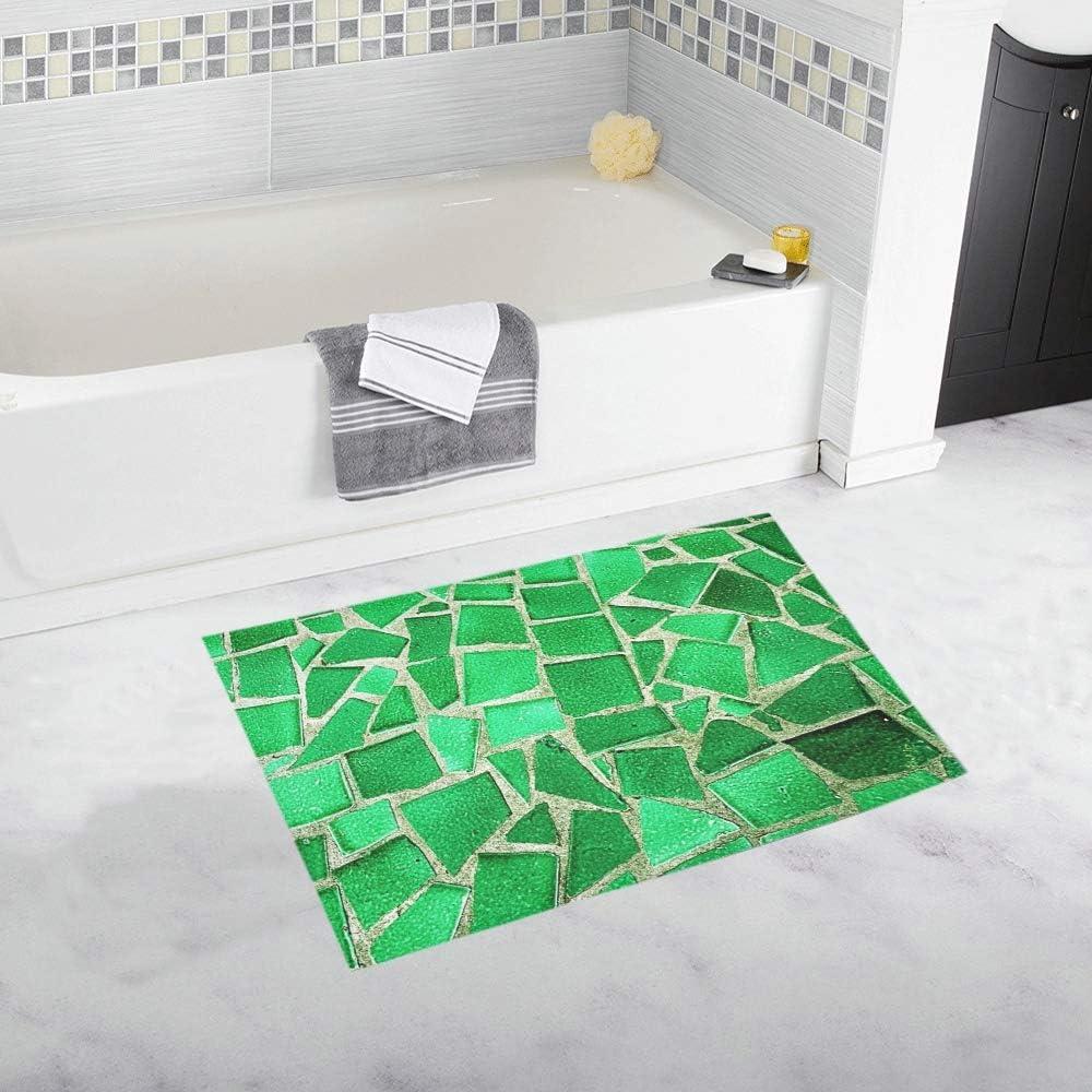 Amazon Com Floor Ceramic Tile Flooring Interior Home Design Custom Non Slip Bath Mat Rug Bath Doormat Floor Rug For Bathroom 20 X 32 Inch Kitchen Dining