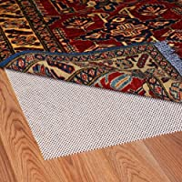 Grip-It Super Stop Cushioned Non-Slip Rug Pad for Rugs on Hard Surface Floors, 4 by 6-Feet, Natural