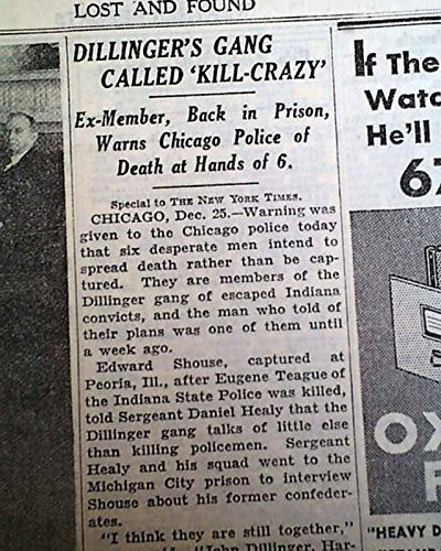 john-dillinger-gang-pinned-a-kill-crazy-murderous-brutal-1933-old-nyc-newspaper-the-new-york-times-d