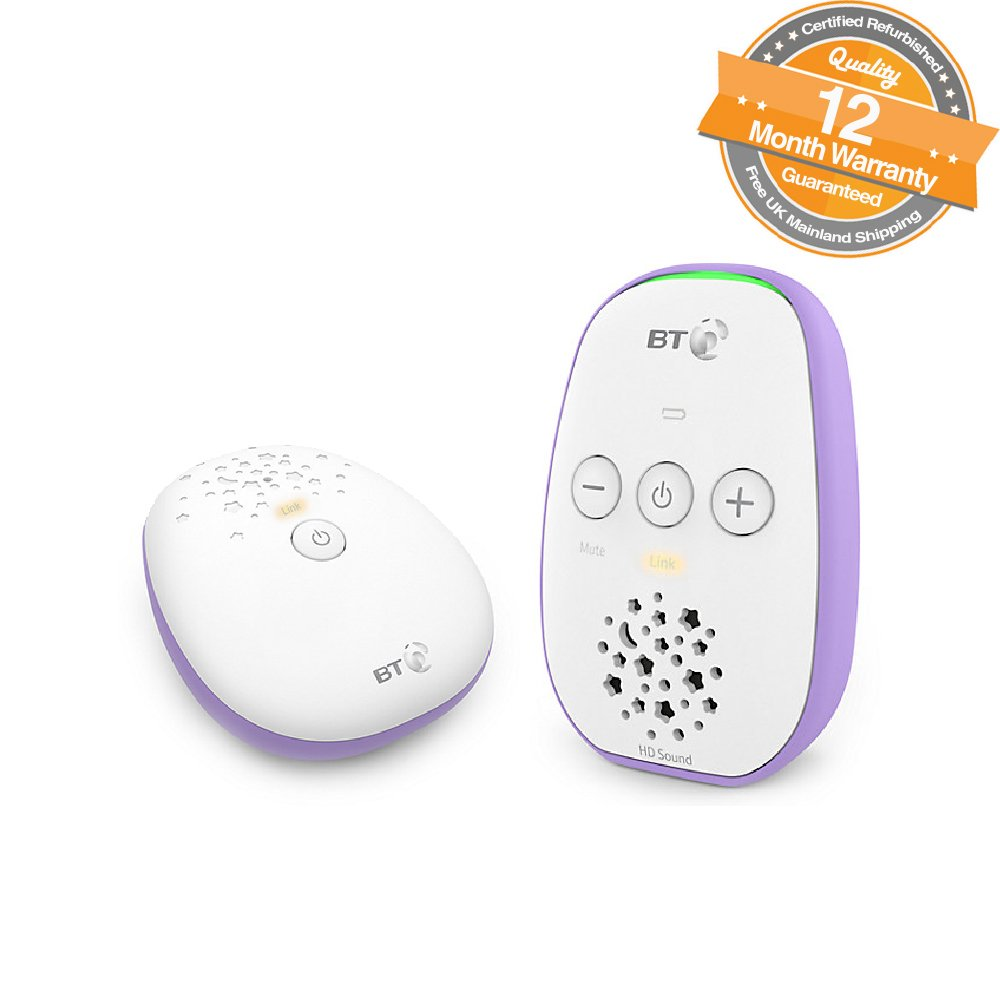 BT Digital Audio Baby Monitor 400 (Certified Refurbished)