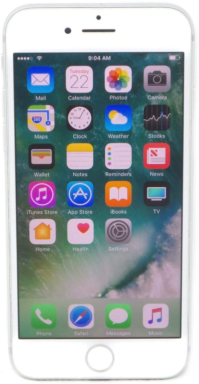 Amazon Com Apple Iphone 7 32gb Silver For At T Renewed