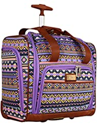 Nicole Miller Chantelle Collection Carry On Under Seat Bag