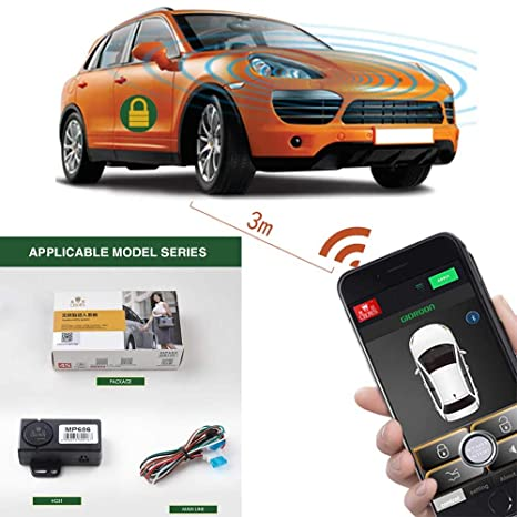 Car Remote Unlocker >> Auto Smartphone Remote Control Locking Kit Smart Key 2 Way Lgnition Trunk Control Unlock Shaking Hand Mobile Phone App Keyless Entry Car Alarm System