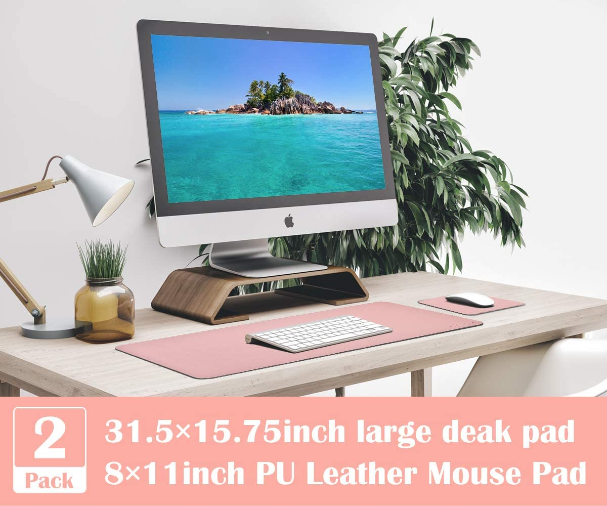 Details about  /Office Accessories High Quality Cheap Printed Leather Deskpad