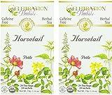 Celebration Herbals Organic Horsetail Tea Caffeine Free -- 24 Herbal Tea Bags (2)