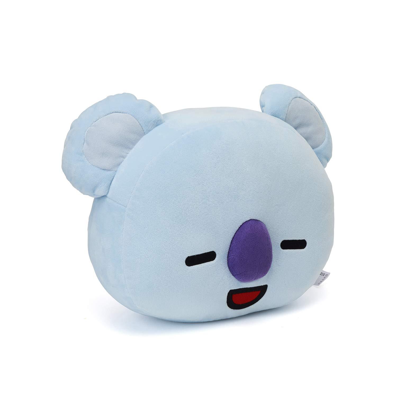 LINE FRIENDS BT21 Official Merchandise KOYA Smile Decorative Throw Pillows Cushion, 16.5 Inch by LINE FRIENDS (Image #5)