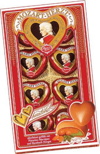 (Reber Mozart Hearts 8 Piece Gift Box, 2.8 Ounce)