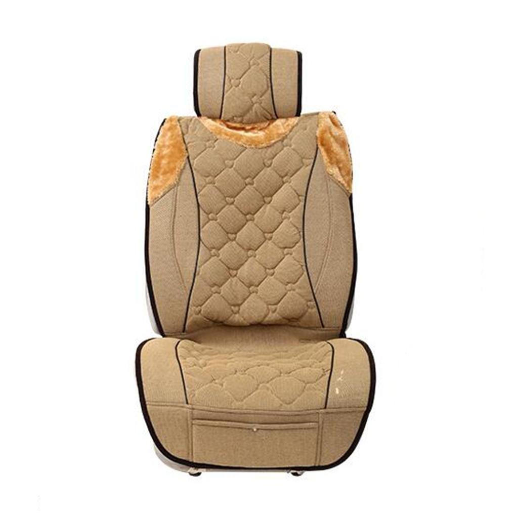 X&Y 12v Carbon Fiber Car Heating Cushion Car Seat Cushion Four Seasons Pad , g