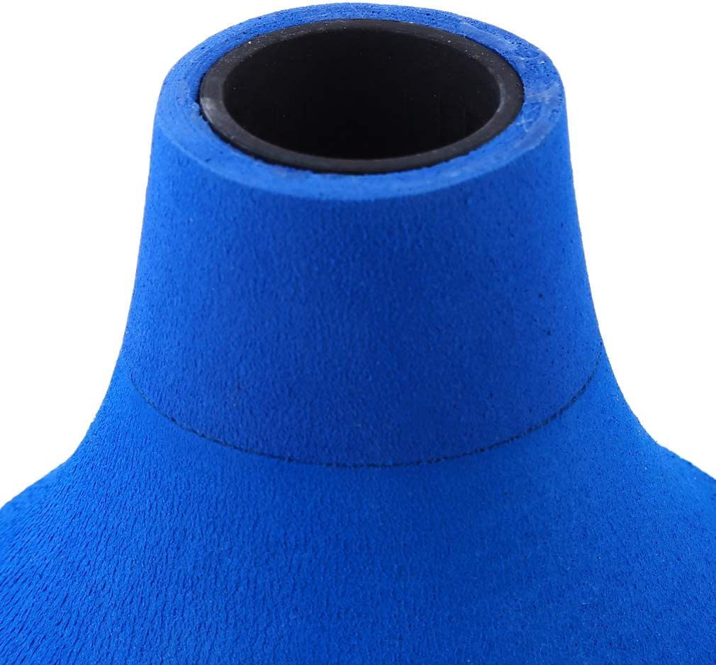 Firecolor Fishing Rod Butt Cushion Stand Up Fighting Pole Holder,Blue