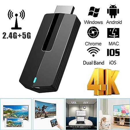 CHARGER DOCK Adaptador de Dongle de Pantalla HDMI 4K / 5G WiFi ...