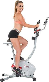 Sunny Health and Fitness Upright Bike