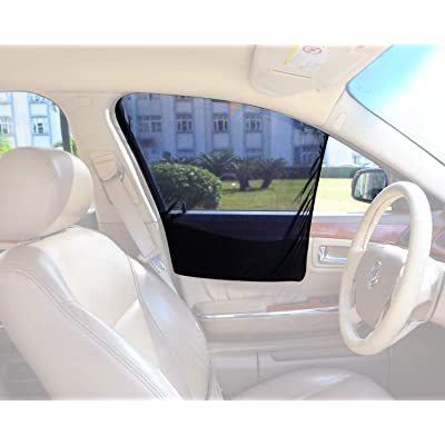 Bayan Front Side Window Sun Shade Car Window Shade Driver Side Window Sunshades-2 Pack: Automotive [5Bkhe0800372]