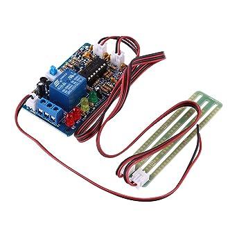 5V Controlador de Nivel de Líquido de Alta Sensibilidad Sensor de Agua Automático Módulo de Detector