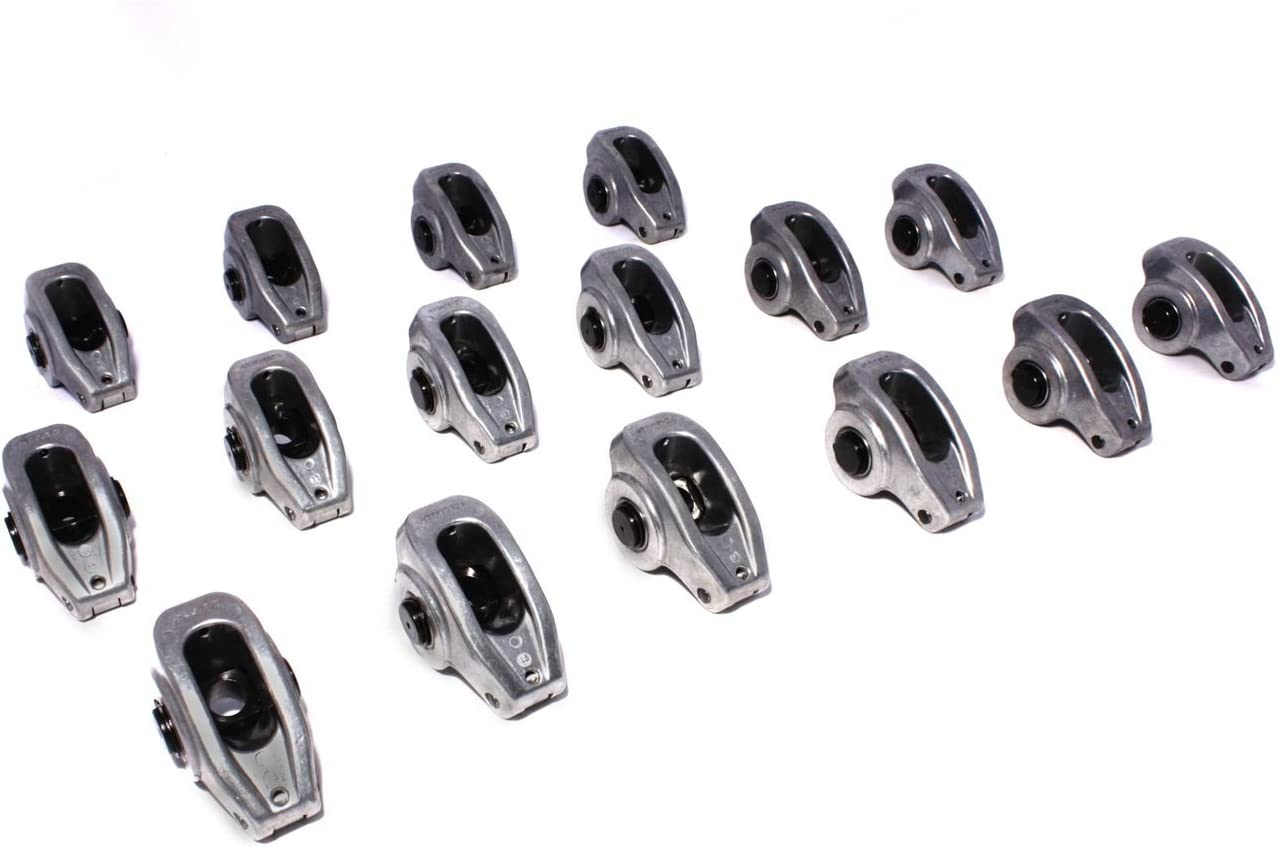 SBC CHEVY COMP CAMS HIGH ENERGY ALUMINUM ROLLER ROCKERS 1.6 3//8/'s  #17002-16