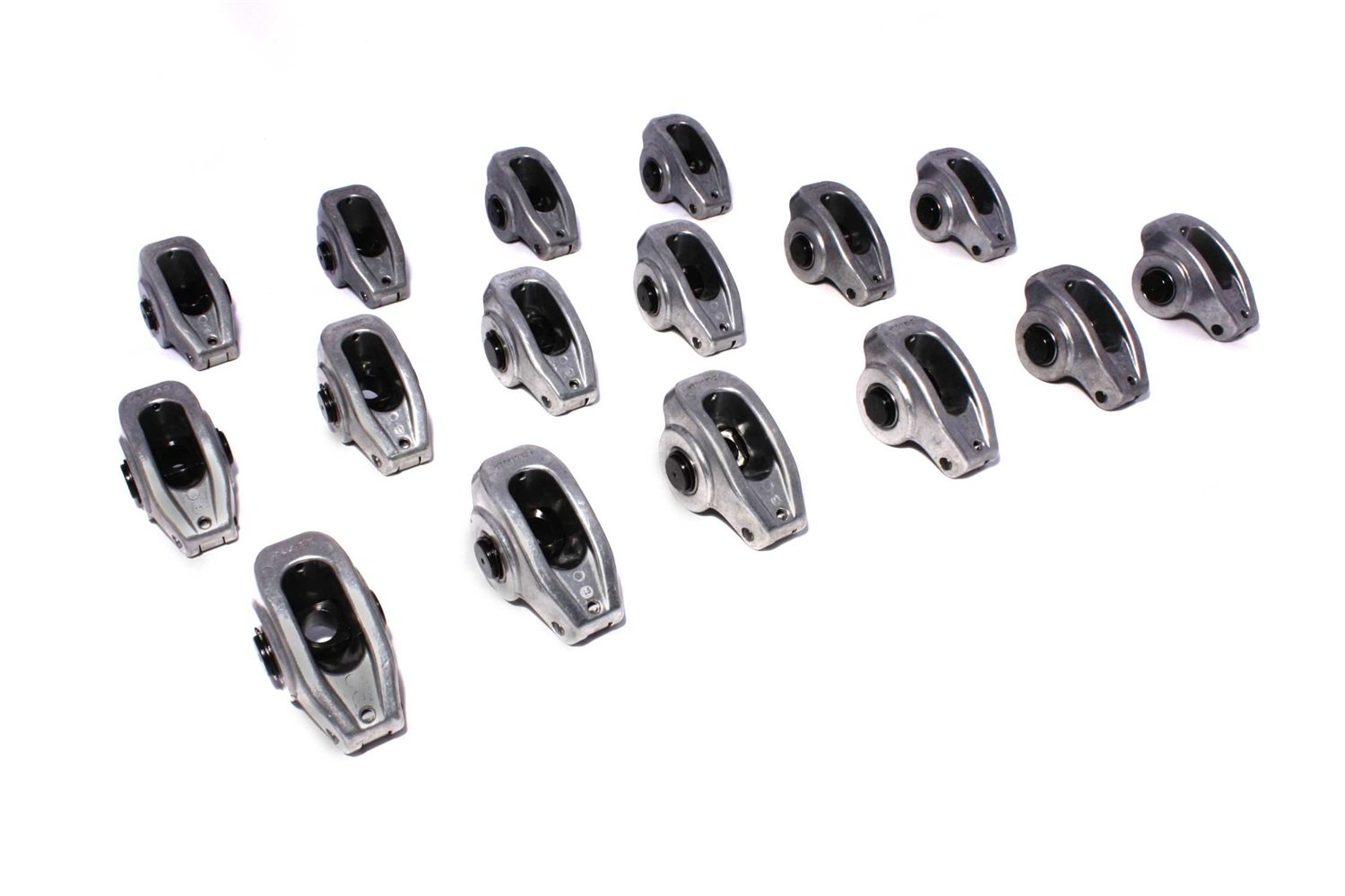 COMP Cams 17004-16 High Energy 7/16' Stud Diameter Die Cast Aluminum Roller Rocker Arm for Small Block Chevrolet