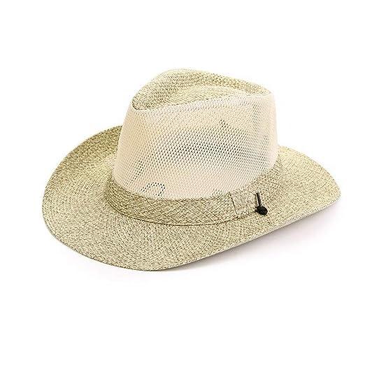 Sombreros Sombrero para El Sol Panamá Verano Paja Hombres Sombrero ...