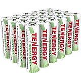 Tenergy Centura AA & AAA Low Self-Discharge LSD NiMH Rechargeable Batteries (AA, 24 pcs)