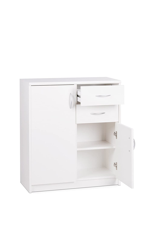 Fashion Home Mueble Auxiliar Kappa D3 Blanco