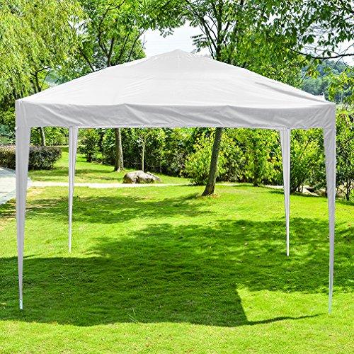 Gazebo Foldable (10'X10' Instant Foldable Pop Up Canopy Tent Folding Gazebo Tent W/Carrying Bag BestMassage)