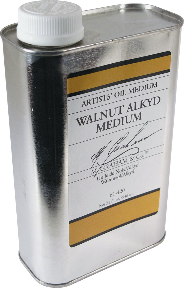 M. Graham 32-Ounce Walnut/Alkyd Medium by M. Graham & Co.
