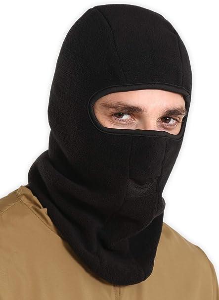 Amazon.com: Máscara de esquí para pasamontañas, para hombre ...