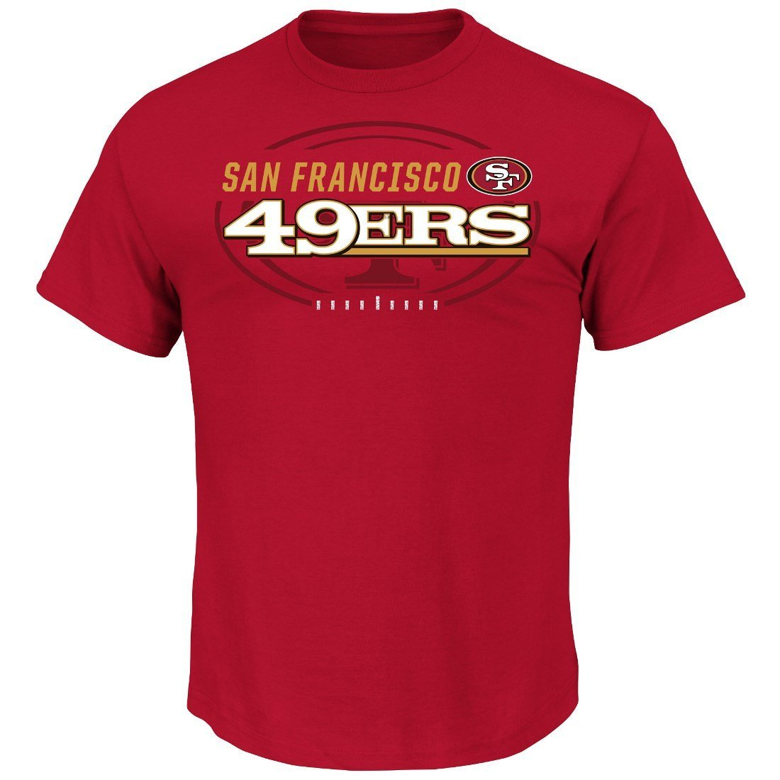 San Francisco 49ers Majestic NFL Of Great Value Men's Short Sleeve T-Shirt