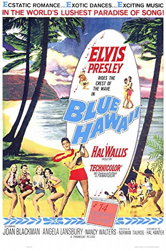 Amazon Blue Hawaii POSTER Movie 11 x 17 Inches 28cm x 44cm