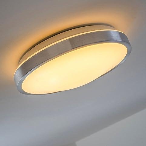 Led Deckenlampe Wutach Rund - 900 Lumen 12 Watt Led Warmweiss