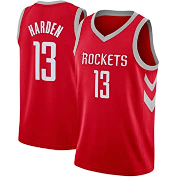 CRBsports James Harden, Baloncesto Jersey, Cohetes, Tejido Bordado, Swag, Ropa Deportiva: Amazon.es: Deportes y aire libre