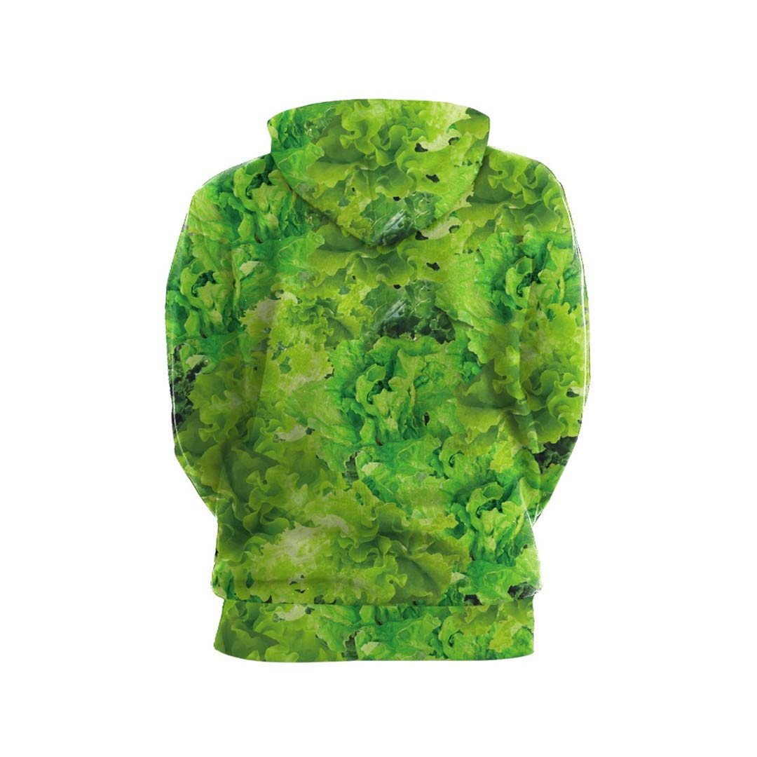 DAZZIYLD Funny Vegetables Meat Print Men Women 3D Hoodies Sweatshirts at Amazon Mens Clothing store:
