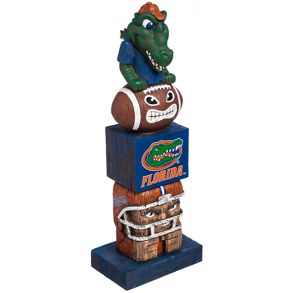 Evergreen College Official Tiki Totem Fan Favorite Team Pride- Florida Gators