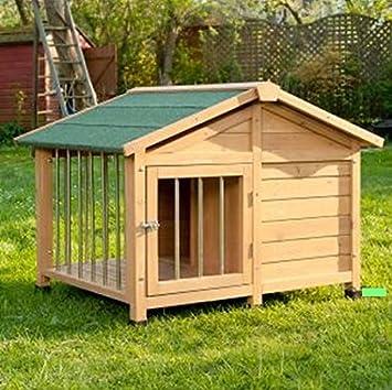 Cerradura - Sylvan especial de caseta de perro bonita carcasa de - ideal para tu mascota fuera de casa para corta veces: Amazon.es: Productos para mascotas