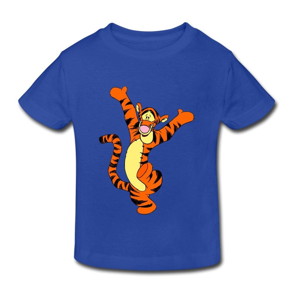 RenHe Toddler Photo Baby Tigger T-shirts Size 2 Toddler RoyalBlue