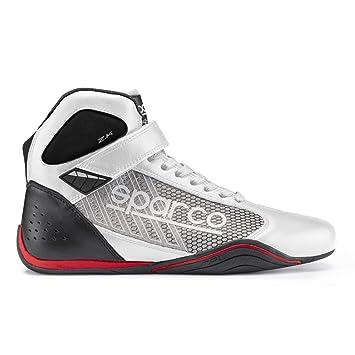 Sparco 00125740BISI Botines para Karting, Blanco/Plata, 40: Amazon.es: Coche y moto