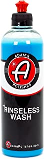 product image for Adam's Rinseless Wash 16oz - High Tech Polymers Prevent Scratching and Swirl Marks - Wash Anywhere, Anytime, Without a Hose