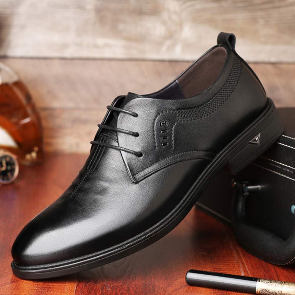 ZYSYSL Formelle Schuhe Herren schnürend rahmengenäht Vintage Business Business Business Classic Casual männliche Lederschuhe Spitzen Leder Leder atmungsaktiv 453c25