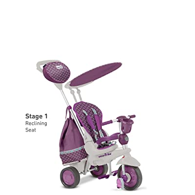 smarTrikeExplorer 5 in 1 Trike - Purple : Sports & Outdoors