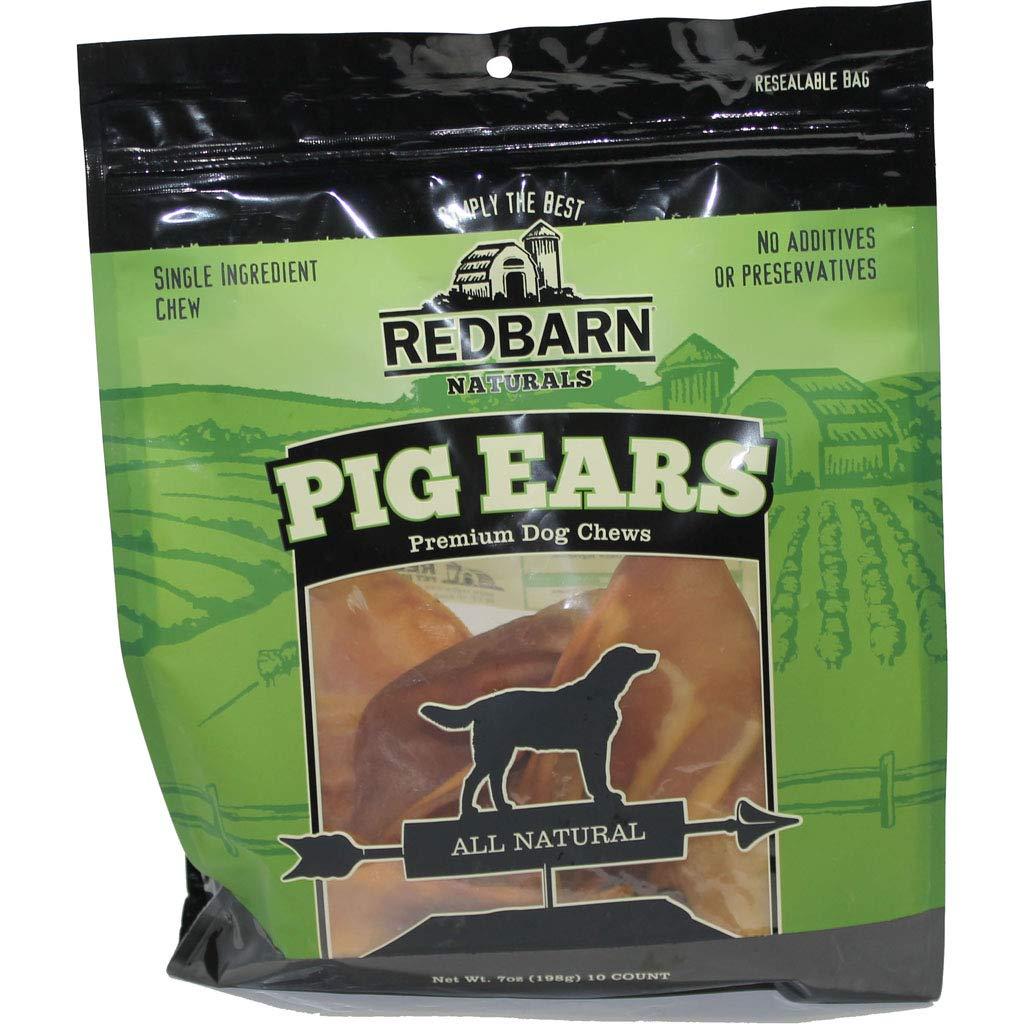 DPD Pig Ears Natural 10 Pk