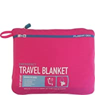 Flight 001 Women's Emergency Travel Blanket, Pink, One Size