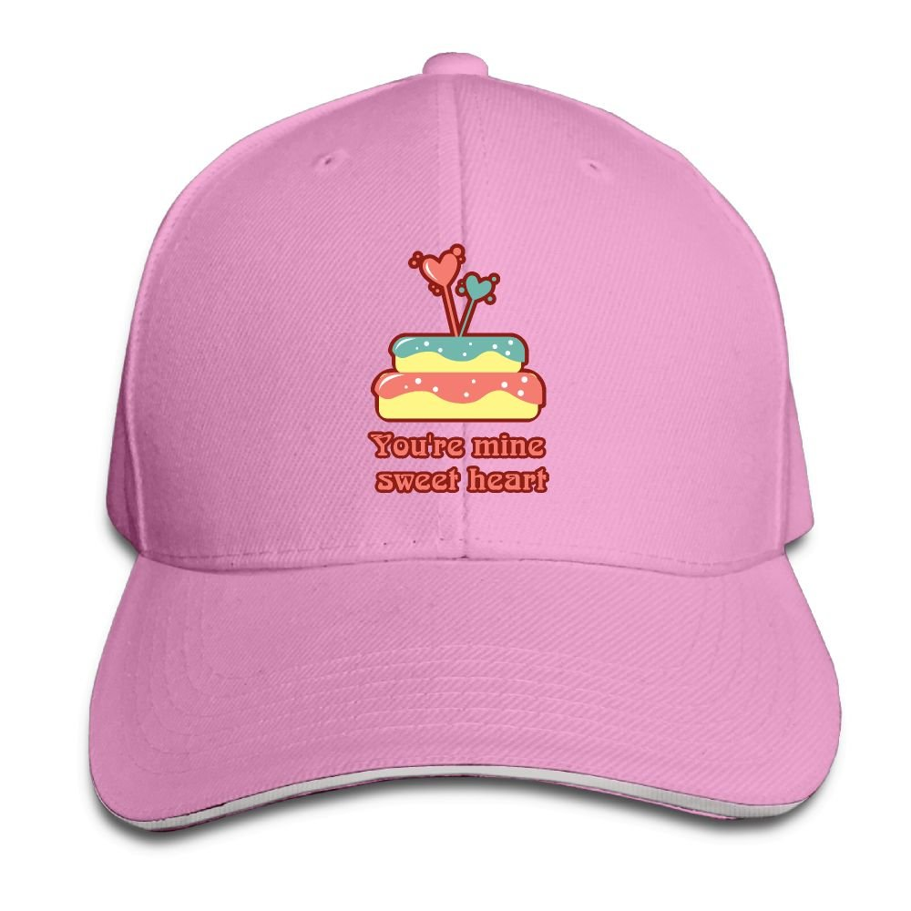D8Ds Caps You're Mine Sweet Heart Cartoon Men Unisex Low Profile Caps Adjustable Hat Cotton Hat by D8Ds Caps