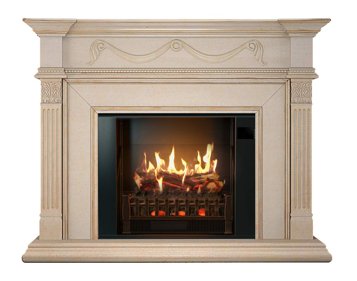 Amazoncom Magikflame Electric Fireplace And Mantel Most