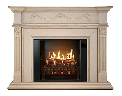 Amazon Com Magikflame Electric Fireplace And Mantel Aphrodite