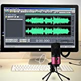 Fifine USB Podcast Condenser Microphone Recording